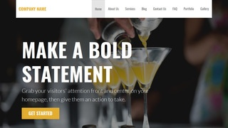Stout Bartender WordPress Theme