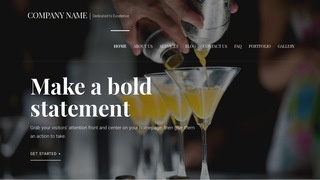 Velux Bartender WordPress Theme