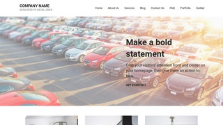 Mins Autos and Vehicles WordPress Theme