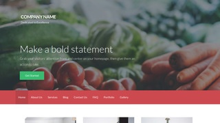 Activation Wholesale Food Products WordPress Theme