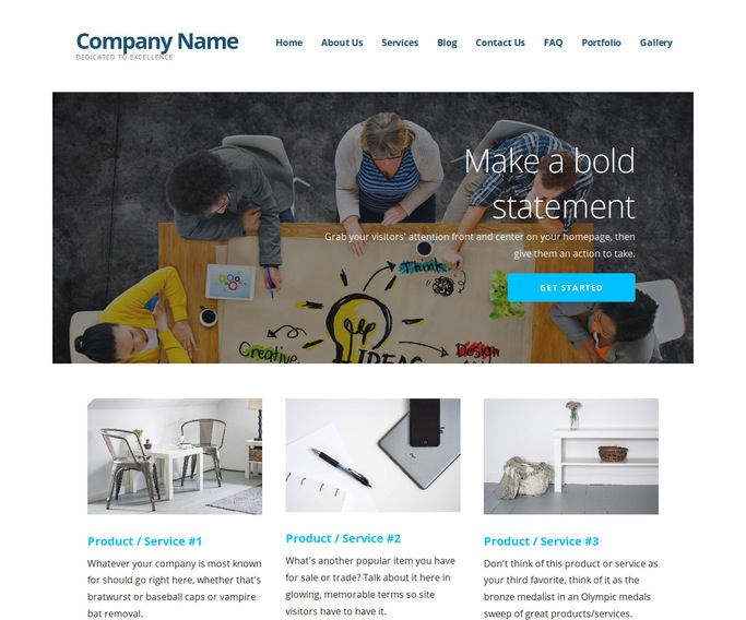 Ascension Furniture and Housewares WordPress Theme