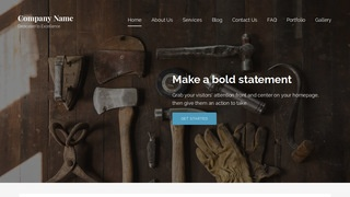 Lyrical Hardware Supplier WordPress Theme