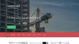 Activation Machinery Supplier WordPress Theme