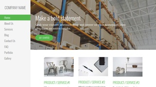 Escapade Manufacturing WordPress Theme