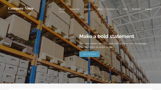 Lyrical Manufacturing WordPress Theme