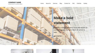 Mins Manufacturing WordPress Theme