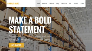 Stout Manufacturing WordPress Theme