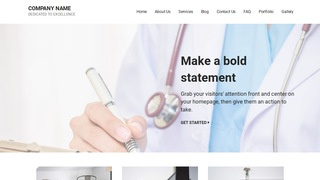 Mins Medical Support WordPress Theme