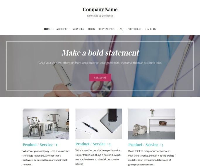 Uptown Style Medical Support WordPress Theme