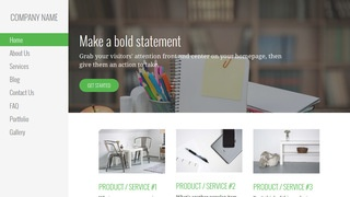 Escapade Office Supplies WordPress Theme