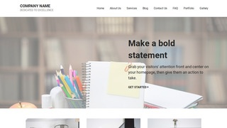 Mins Office Supplies WordPress Theme