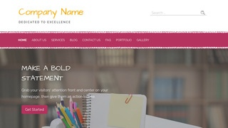 Scribbles Office Supplies WordPress Theme