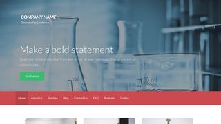 Activation Science and Technology WordPress Theme