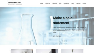 Mins Science and Technology WordPress Theme