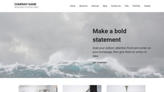 Mins Beaches WordPress Theme