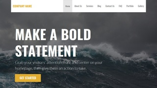 Stout Beaches WordPress Theme