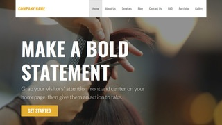 Stout Beauty Salon WordPress Theme
