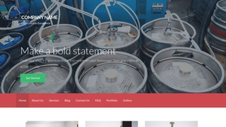 Activation Beer Distributor WordPress Theme