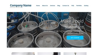 Ascension Beer Distributor WordPress Theme