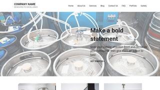 Mins Beer Distributor WordPress Theme