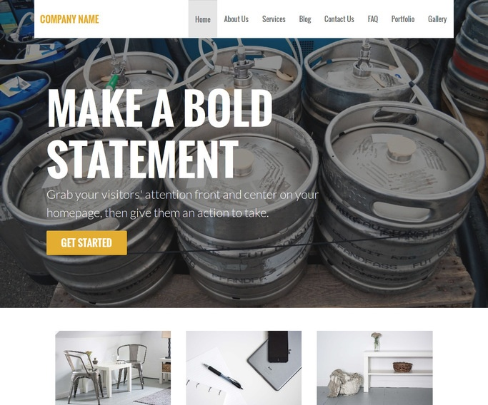 Stout Beer Distributor WordPress Theme