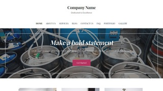 Uptown Style Beer Distributor WordPress Theme