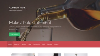 Activation Beverage Distributor WordPress Theme