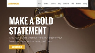 Stout Beverage Distributor WordPress Theme