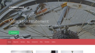 Activation Bike Repair  WordPress Theme