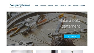 Ascension Bike Repair  WordPress Theme
