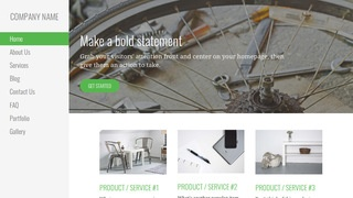 Escapade Bike Repair  WordPress Theme