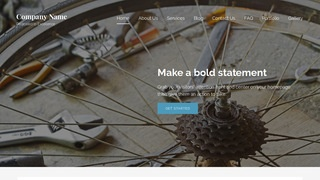 Lyrical Bike Repair  WordPress Theme