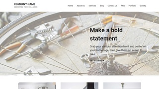 Mins Bike Repair  WordPress Theme