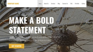 Stout Bike Repair  WordPress Theme