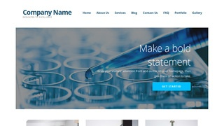 Ascension Biotechnology Company WordPress Theme