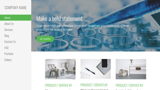 Escapade Biotechnology Company WordPress Theme