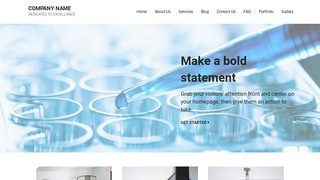 Mins Biotechnology Company WordPress Theme