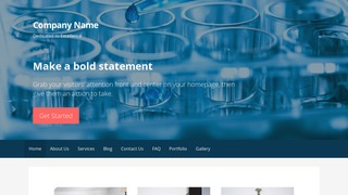 Primer Biotechnology Company WordPress Theme