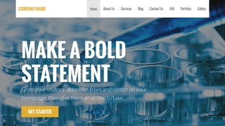 Stout Biotechnology Company WordPress Theme