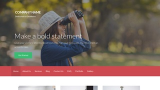 Activation Bird Watching Area WordPress Theme