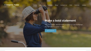 Lyrical Bird Watching Area WordPress Theme
