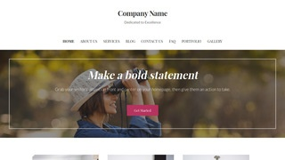 Uptown Style Bird Watching Area WordPress Theme