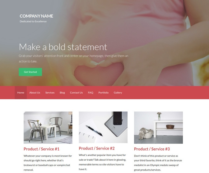 Activation Birth Center WordPress Theme