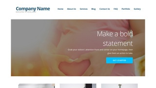 Ascension Birth Center WordPress Theme
