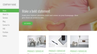 Escapade Birth Center WordPress Theme