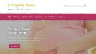 Scribbles Birth Center WordPress Theme