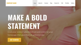 Stout Birth Center WordPress Theme