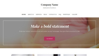 Uptown Style Birth Center WordPress Theme