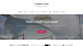 Uptown Style Boat Repair WordPress Theme