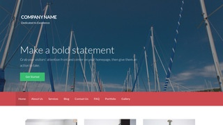 Activation Boat and Yacht WordPress Theme
